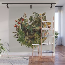 Camo Chihuahua Forest Adventure Wall Mural