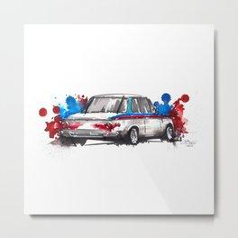BMW 2002 Metal Print