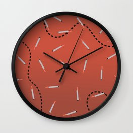 Cigaret Wall Clock