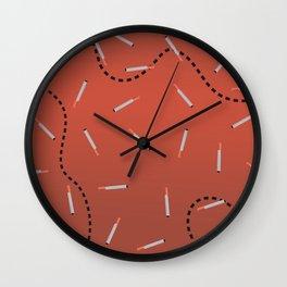 Cigaret Wall Clock