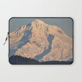Twilight Over Mount Hood Laptop Sleeve