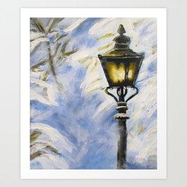 The Lamppost Art Print