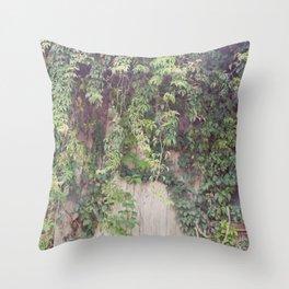 Rustic Vines Throw Pillow