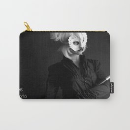 Masked Warrior Carry-All Pouch