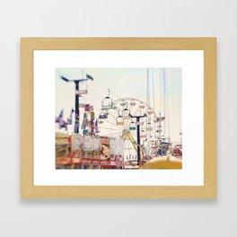 Fair Midway 2 Framed Art Print