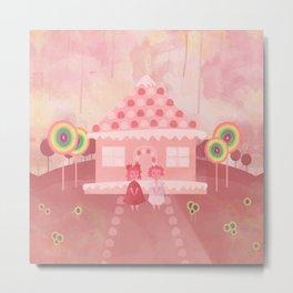 Candy Fields (Hansel & Gretel) Metal Print