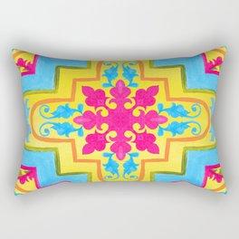 Portuguese azulejo tiles. Gorgeous patterns. Rectangular Pillow