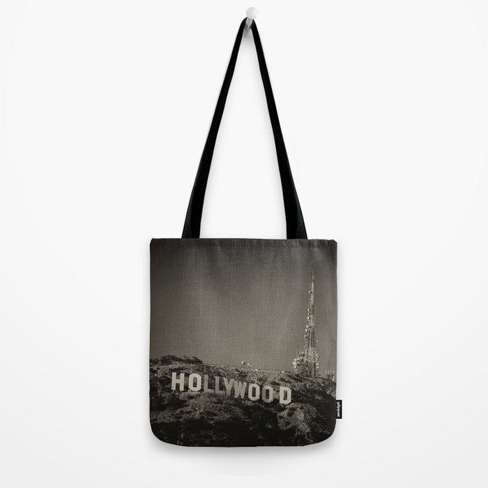 Vintage Hollywood sign Tote Bag