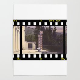 Old Hollywood Hills Poster