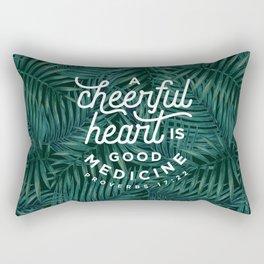 A Cheerful Heart Rectangular Pillow