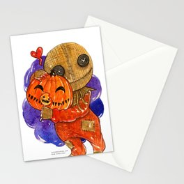 Trick R Treat Sam Hug Stationery Cards
