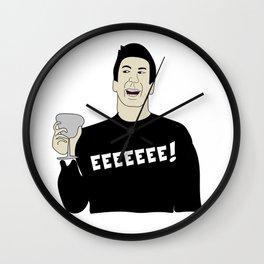 Friends Shirt Ross' Love Speech Wall Clock