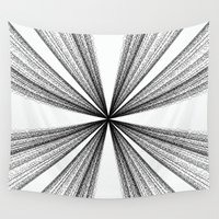 numbers Wall Tapestries featuring Numbers Matter by Sarah Welch