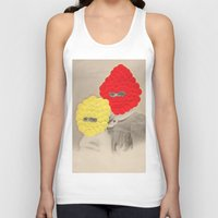 scales Tank Tops featuring Scales by Naomi Vona