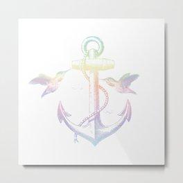 Anchors Metal Print