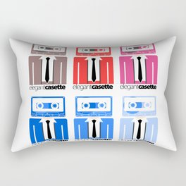 Elegant Casette Rectangular Pillow