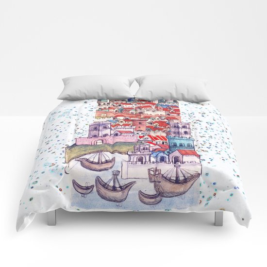 Travelling everywhen Comforters
