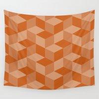 escher Wall Tapestries featuring Escher #001 by rob art | simple