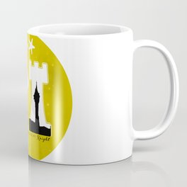 KNIGHT ROOK (Yellow) Coffee Mug