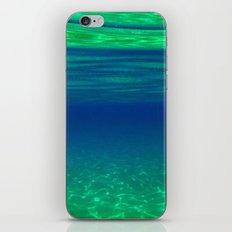 UNDERWATER RIPPLE iPhone & iPod Skin