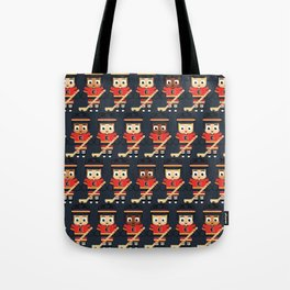 Super cute sports stars - Ice Hockey Red, Yellow and Black Tote Bag