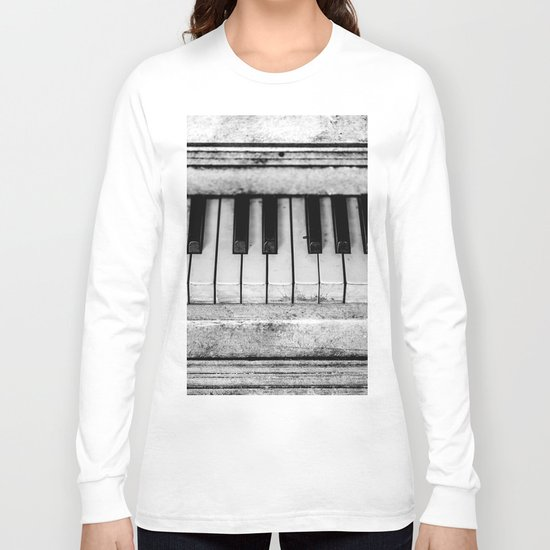 The piano Long Sleeve T-shirt
