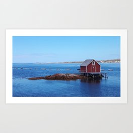 Joe Batt's Arm House Art Print