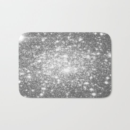 Silver Gray Bath Mat