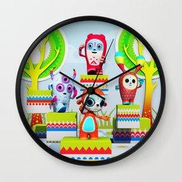 Pixy Wonderland Wall Clock