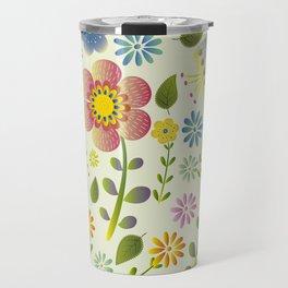 Petty Floral Pattern 2 Travel Mug
