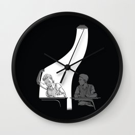 Light Robber Wall Clock