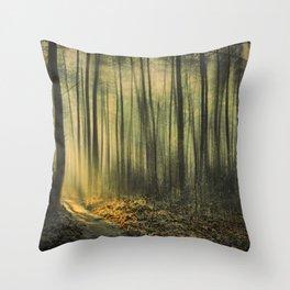 Shaft of Morning Light Throw Pillow