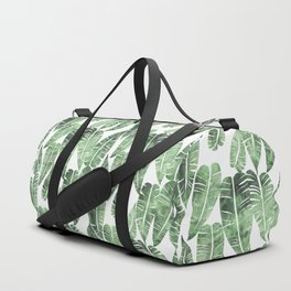 Island Goddess Leaf Green Duffle Bag