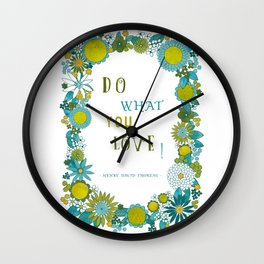 inspirational #3 Wall Clock