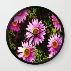 Dressed In Pink Wall Clock