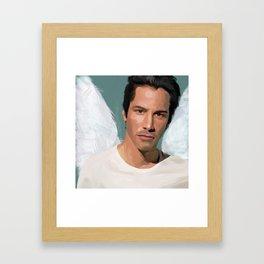 Keanu Reeves Framed Art Print