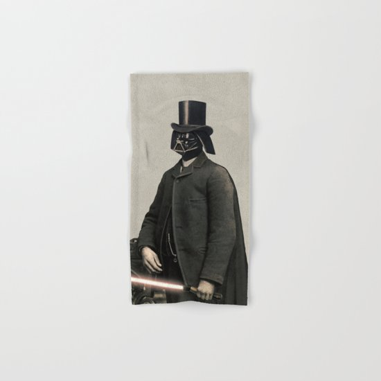 Lord Vadersworth  - square format Hand & Bath Towel