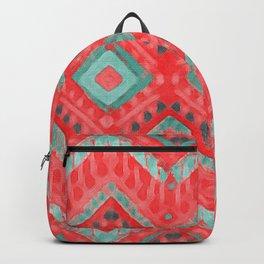 itzel - watermelon + teal Backpack