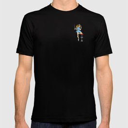 Shelly Johnson Pin-up T-shirt