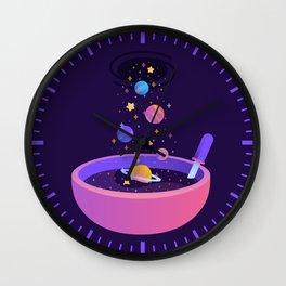 Macrocosmic Cereal Wall Clock
