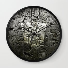 Autobot steel Wall Clock