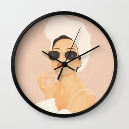 Morning Routine Wall Clock