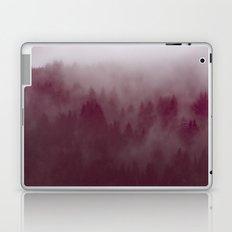 Fog Forest Mountain - Vintage Misty Redwoods. Laptop & iPad Skin