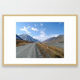 The Pamir Highway Framed Art Print