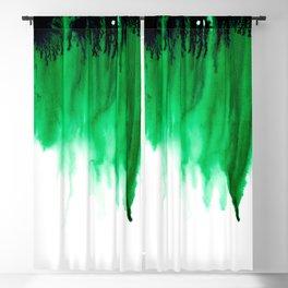 Emerald Bleed Blackout Curtain