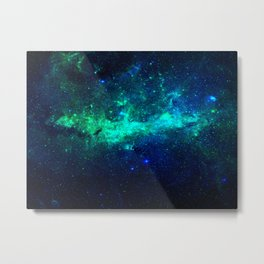 Bright Nebula Metal Print
