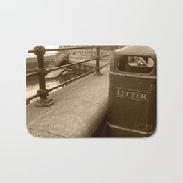 London Trash Talk Bath Mat