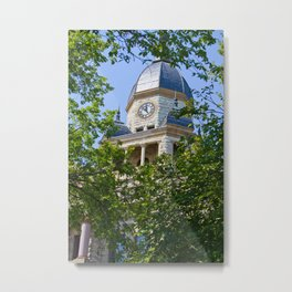Courthouse on the Square Metal Print
