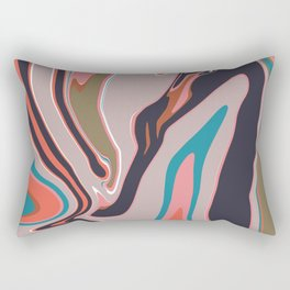 Marbleized II Rectangular Pillow