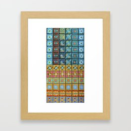 """""""Country Patchwork (i)"""" by ICA PAVON Framed Art Print"""